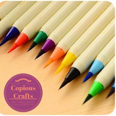 Original Japan Watercolor Brush Marker Pen Set Products Japan