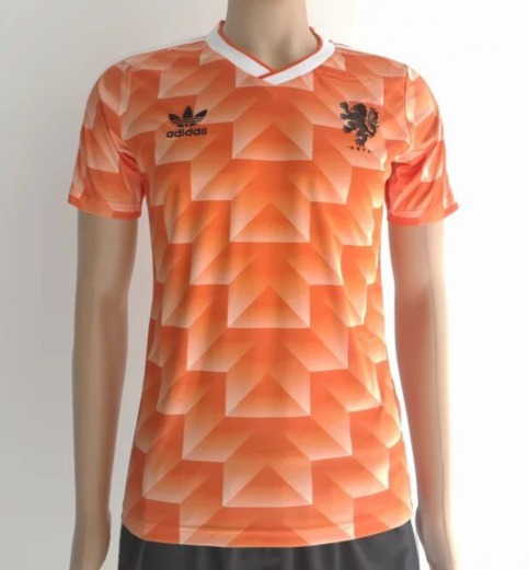 buy popular 5839c b8a2a Netherlands 1988 home Men Soccer Retro Jersey Personalized ...