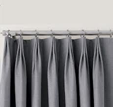 These Might Be My Favorite Type Of Pleat It S An Inverted Pinch Pleat They Can Be Either Three Or Two Pinch Pleat Curtains Pleated Drapes French Pleat Drape