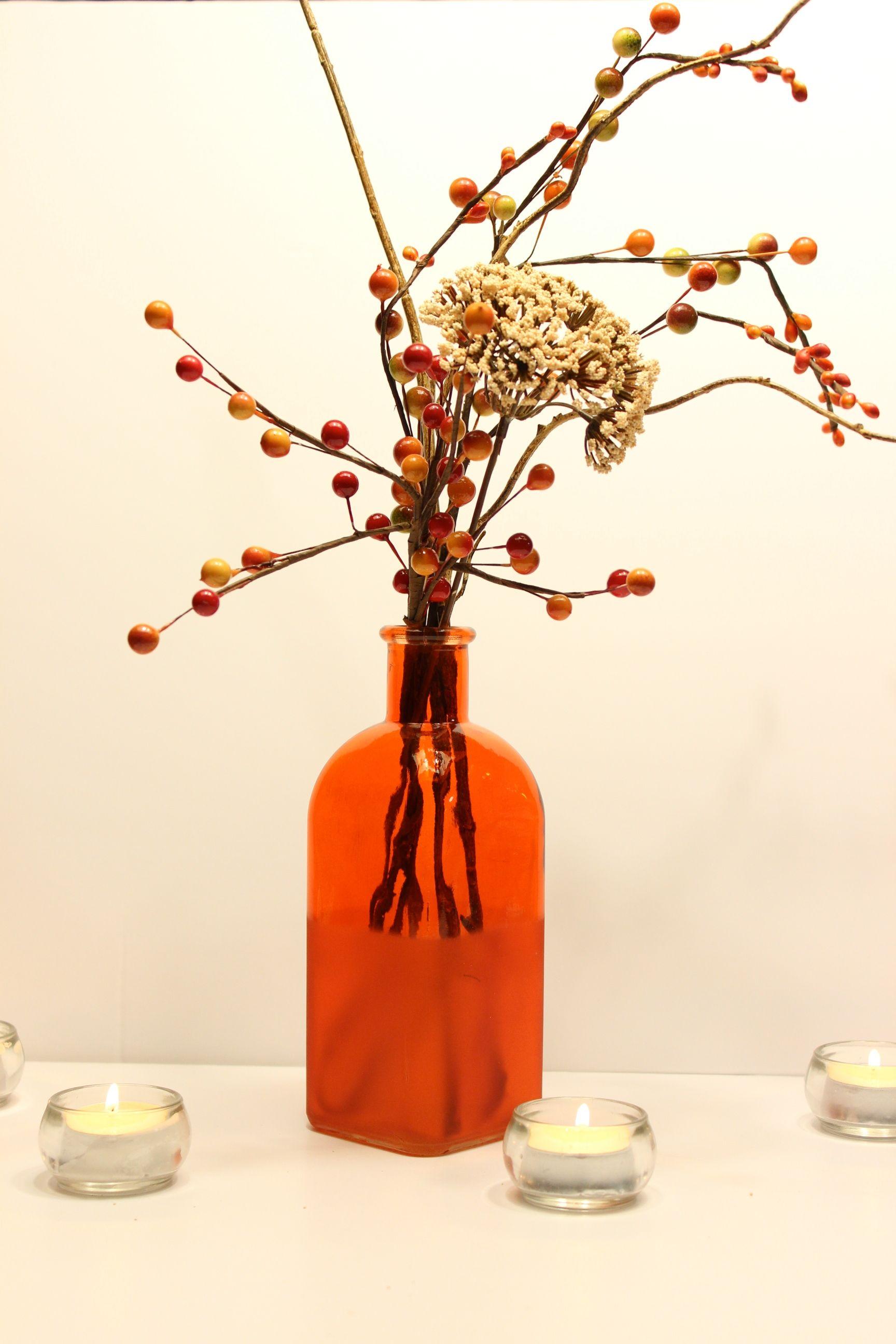 beautiful #Fall #centerpiece! #wedding, event or home decor https ...