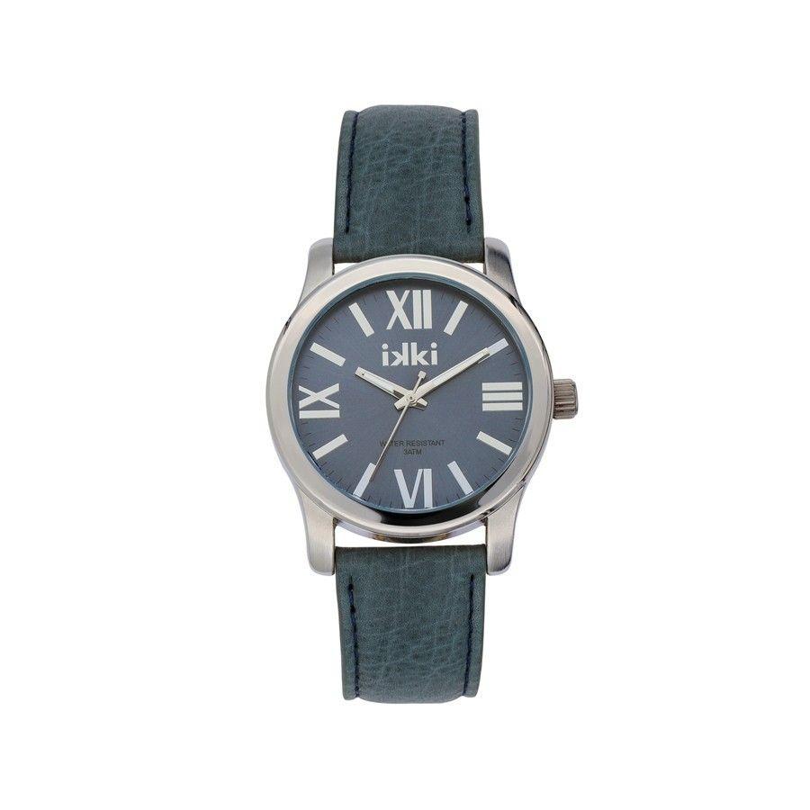 IKKI Anna Royal Blue/Silver horloge AN-14
