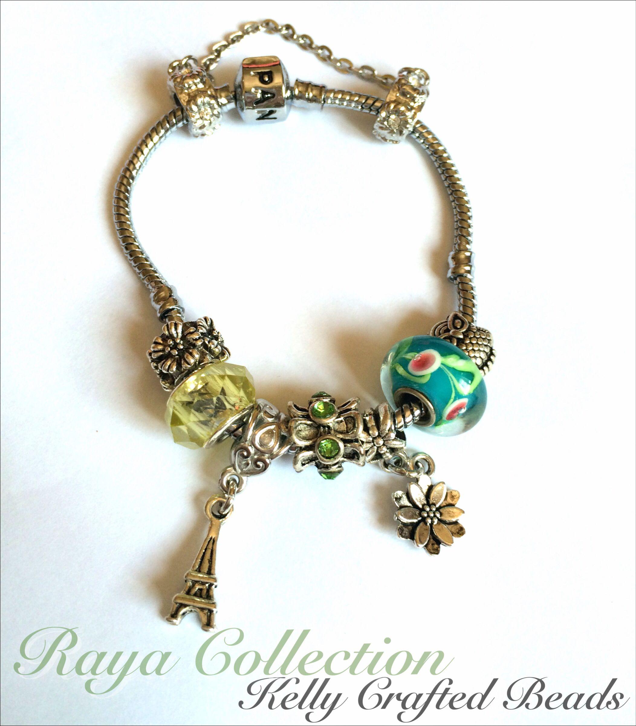 Pandora Inspired Bracelet Raya Collection