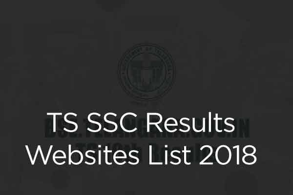 TS SSC Results Websites List 2018 - bse telangana gov in Manabadi