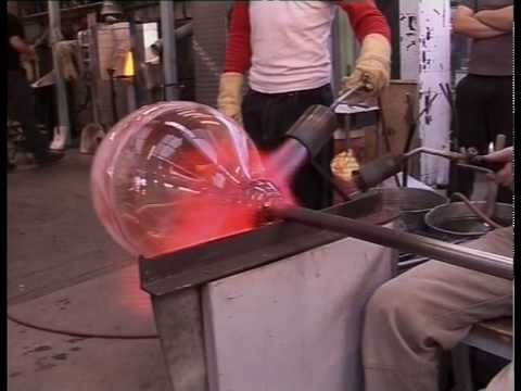 Glass Blowing Giant Bowls Vases Glass Art Pinterest Glass