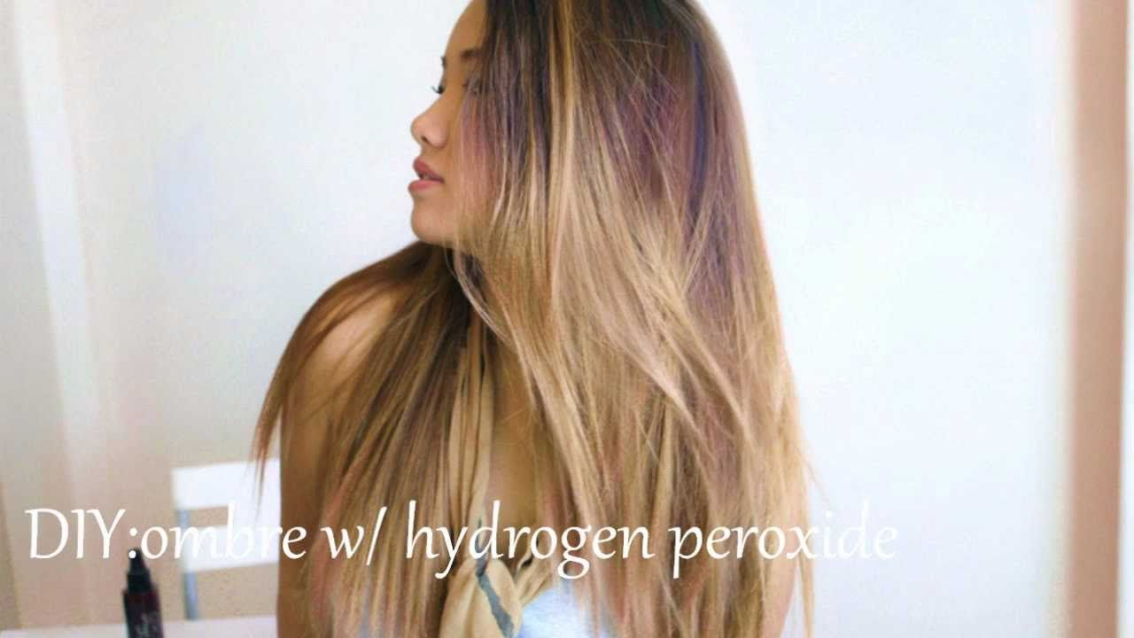 Youtube Hair Highlights Diy Highlights Hair Hair Lightening Spray