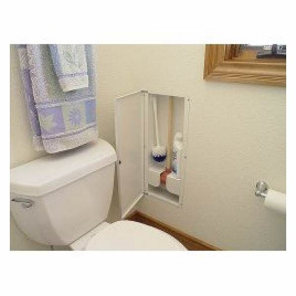 Hydit Hidden Toilet Plunger Storage By Helber Hydit100 There S No Need To Have Embarrassing Standard Toilet Operation Equipment Li Hidden Toilet Wall Storage Cabinets Bathroom Gadgets