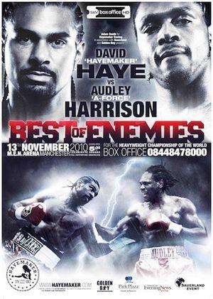 david haye boxing poster - Google Search