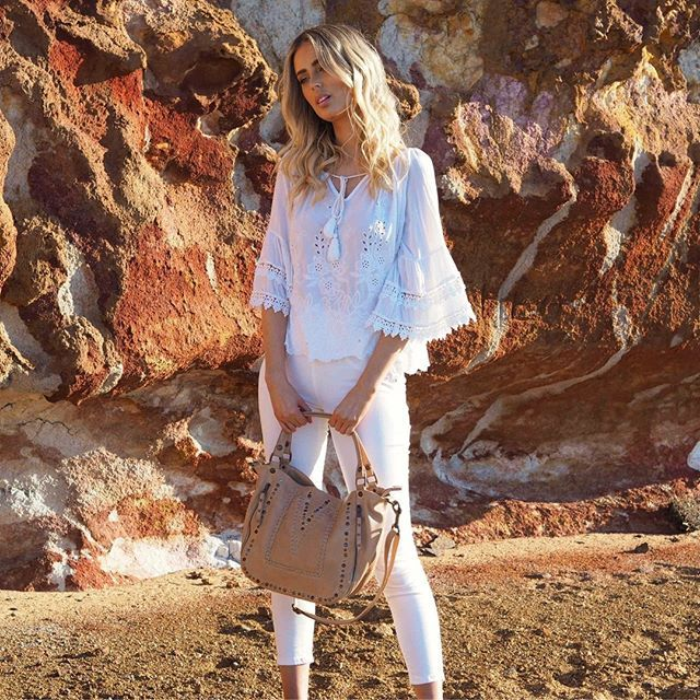 The beautiful Uma bag is a summer dream with its intricate details and neutral palette  The beautiful Uma bag is a summer dream with its intricate details and neutral pal...