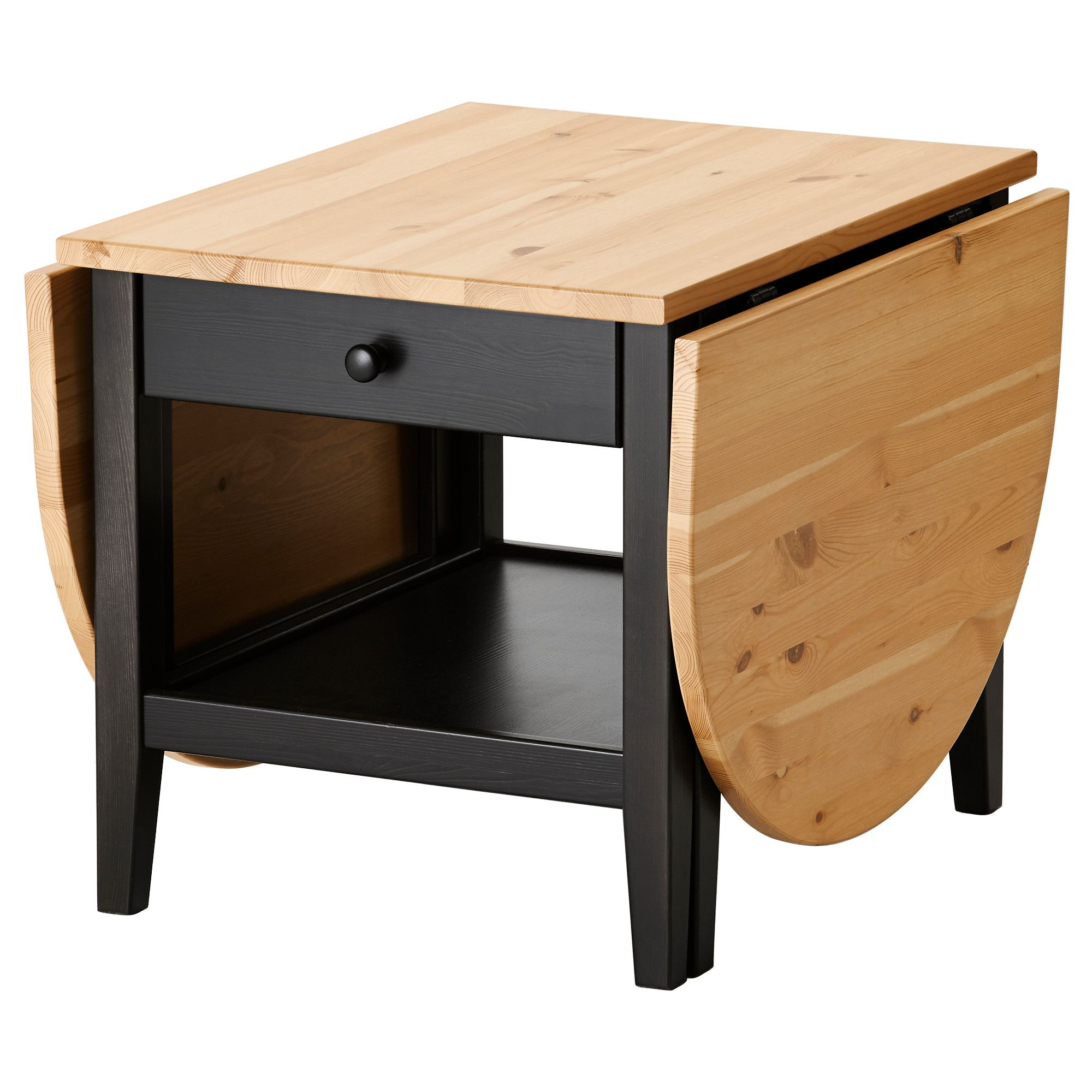 "ARKELSTORP Coffee table, black (IKEA) (""Solid wood is a"
