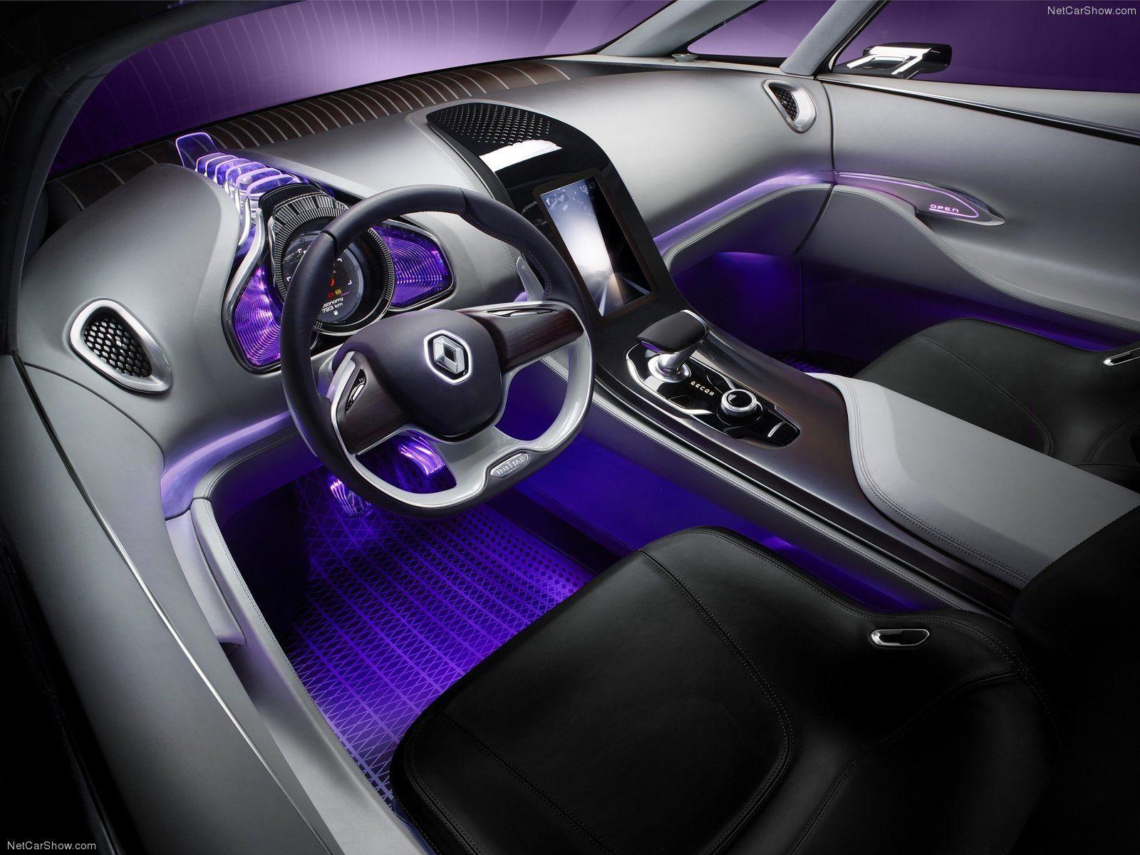 Renault Interior French Paris Car Seat Future Glass Purple