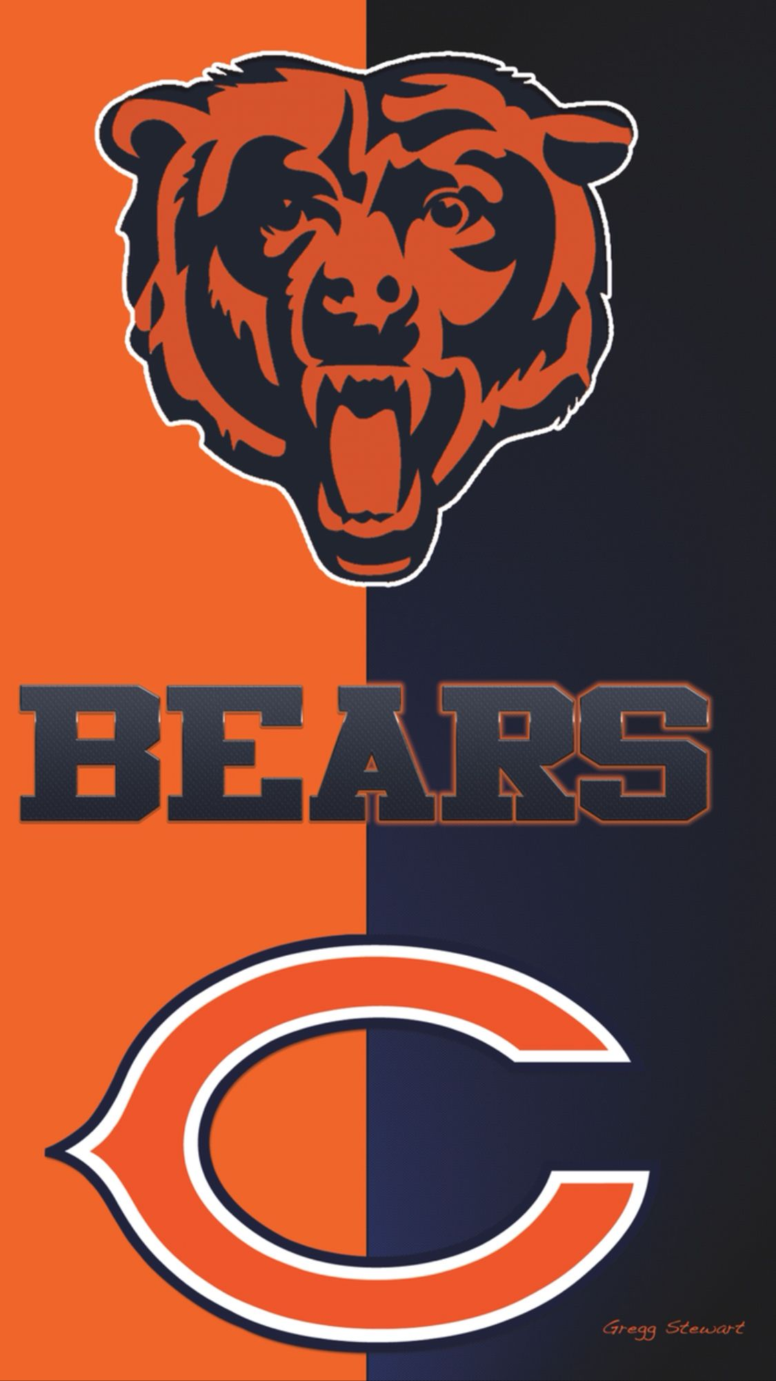 Bear Down And Get Rid Of Cutler Chicago Bears Pictures Chicago Bears Wallpaper Chicago Bears Logo