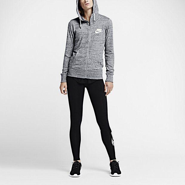 Nike Gym Vintage Full-Zip – Sweat à capuche entièrement zippé pour Femme fd959b7511b5