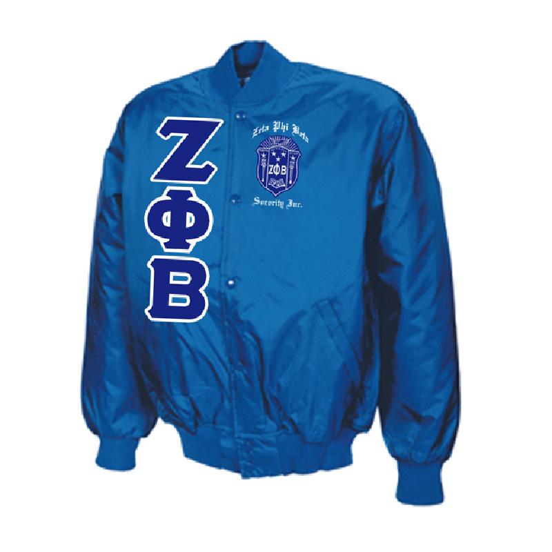 Zeta Phi Beta Oxford Jacket Solid