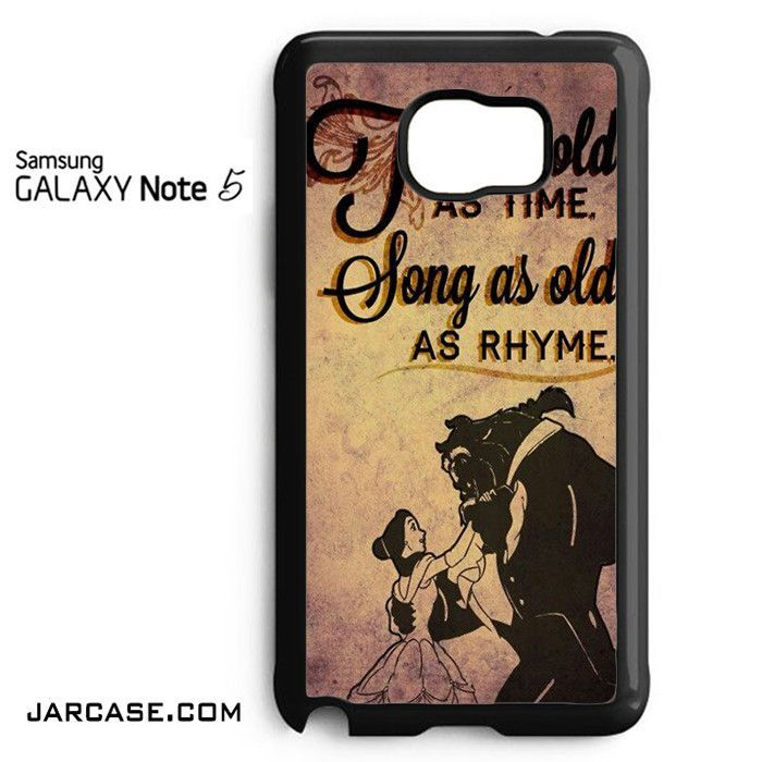 Beauty And The Beast Quotes Phone case for samsung galaxy note 5 and another devices