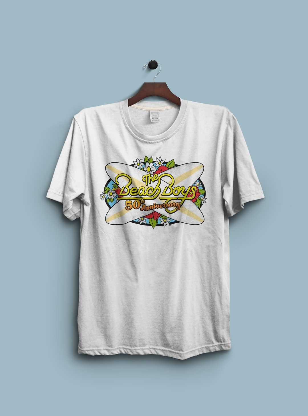 the beach boys rock n roll t shirts merch and apparel graphics