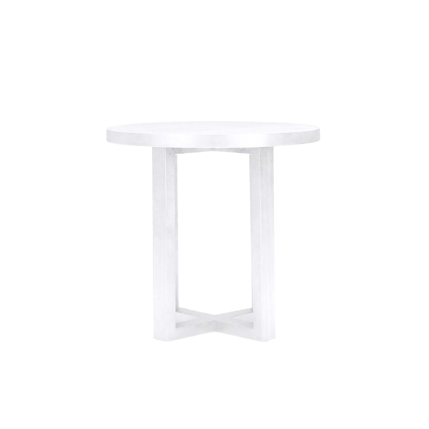 Small round bedside table - White Criss Cross Coffee Table Home Bedroom Furniture Bedside Tables Criss Cross Round Side Table