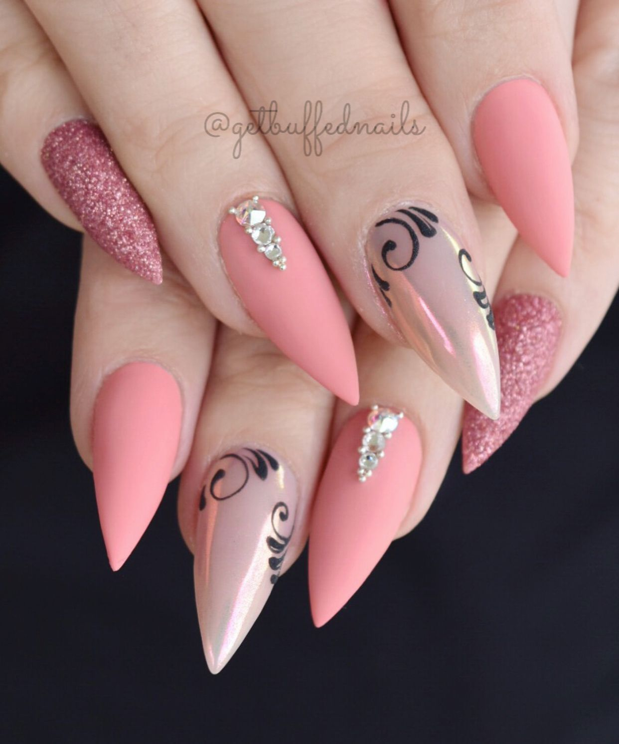 1001+ ideas and designs for unique ballerina nails in 2020
