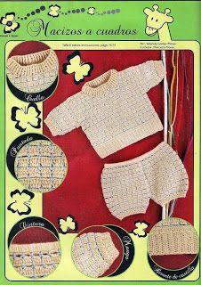 Croche pro Bebe Set