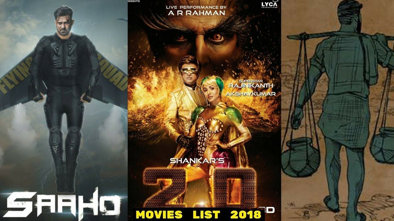 New Hindi Movei 2018 2019 Bolliwood: 18 Upcoming Complete South Indian Movies List 2018 With