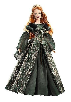 Princess Barbie Dolls of the World Collection | An Irish Princess Doll.