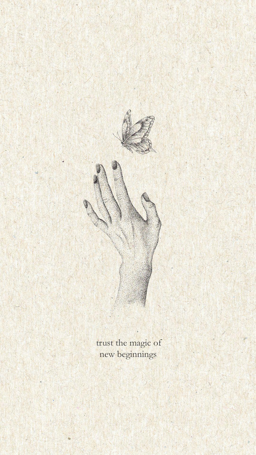 trust the magic of new beginnings