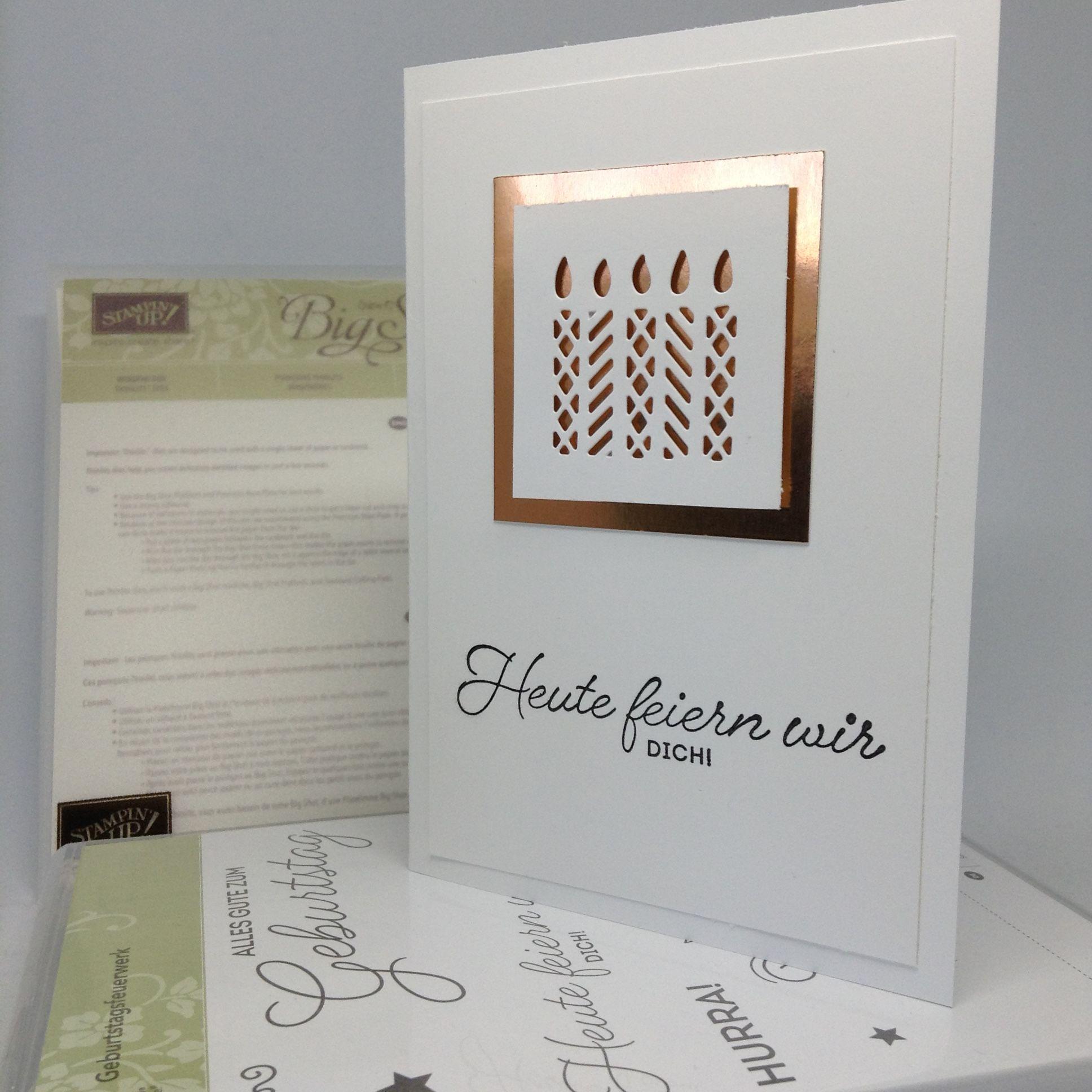 Geburtstagsfeuerwerk | Einfache Geburtstagskarten, Kupfer und Farben