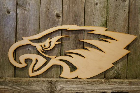 0a044675 Philadelphia Eagles wood cut sign by ArrayOfDelight on Etsy | Man ...