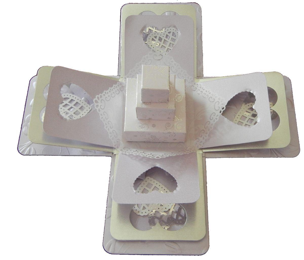 Jinky\'s Crafts & Designs: Wedding & 18th Birthday Exploding Box ...