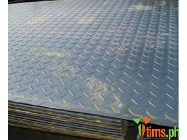 Construction Industrial Supply Diamond Plate Also Known As Checker Plate Tread Plate And Durbar Floor Plate Is A T Diamond Plate Industrial Construction