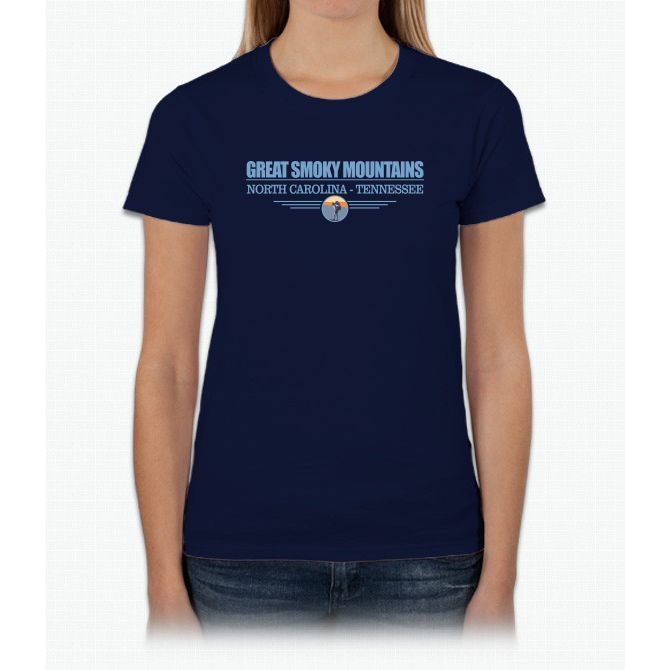 Great Smoky Mountain Womens T-Shirt
