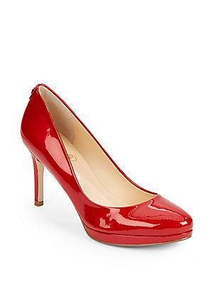 Desti Patent Leather Platform Pumps - SaksOff5th