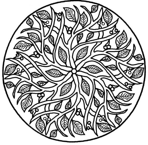 Mandala Coloring Pages Printable - Mandala Coloring pages of ...