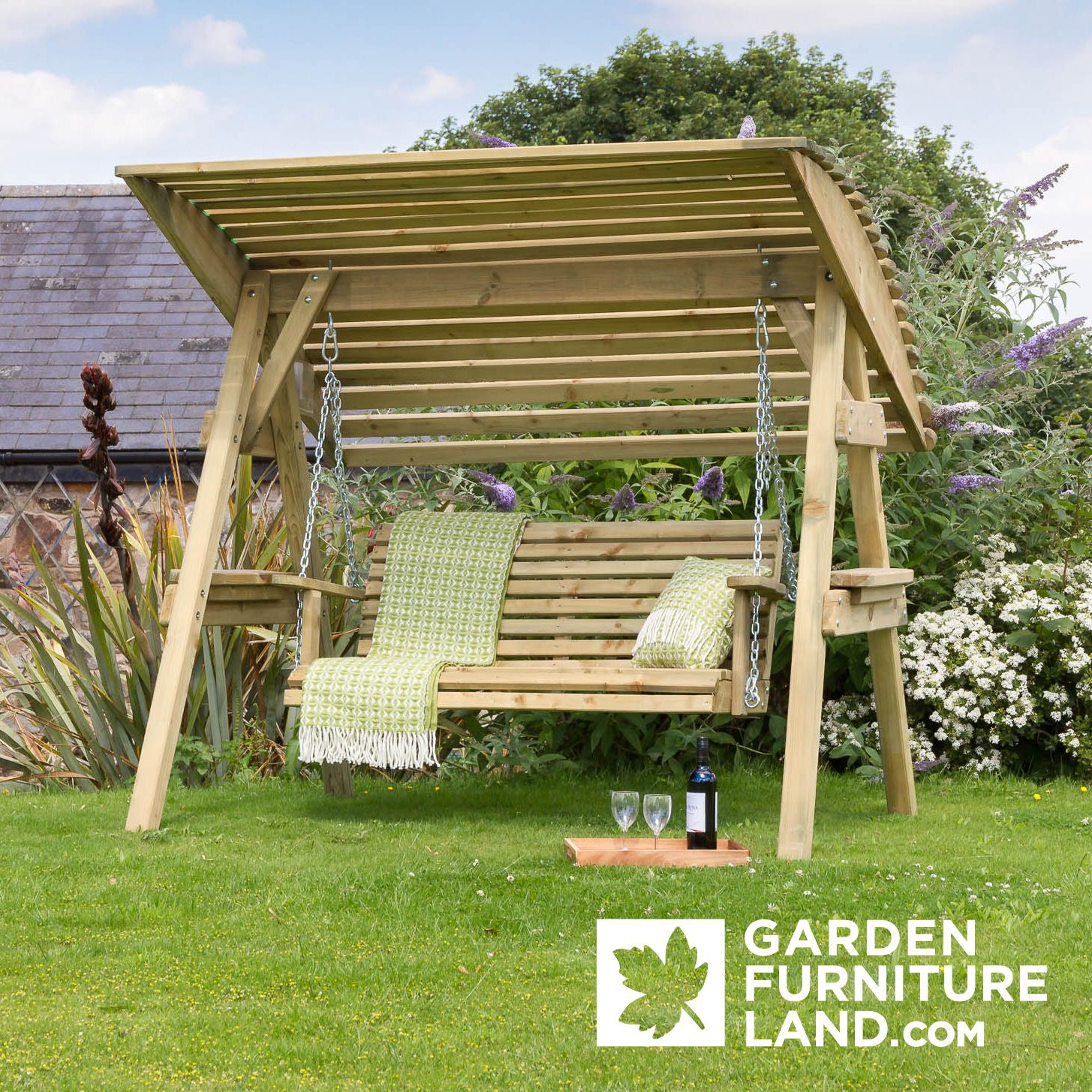 One of our best selling garden swings buy it here