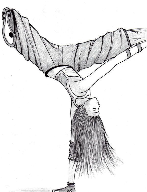 Hip Hop Dancer Sketch | Hip Hop ~ Dance | Dibujos, Bocetos ...