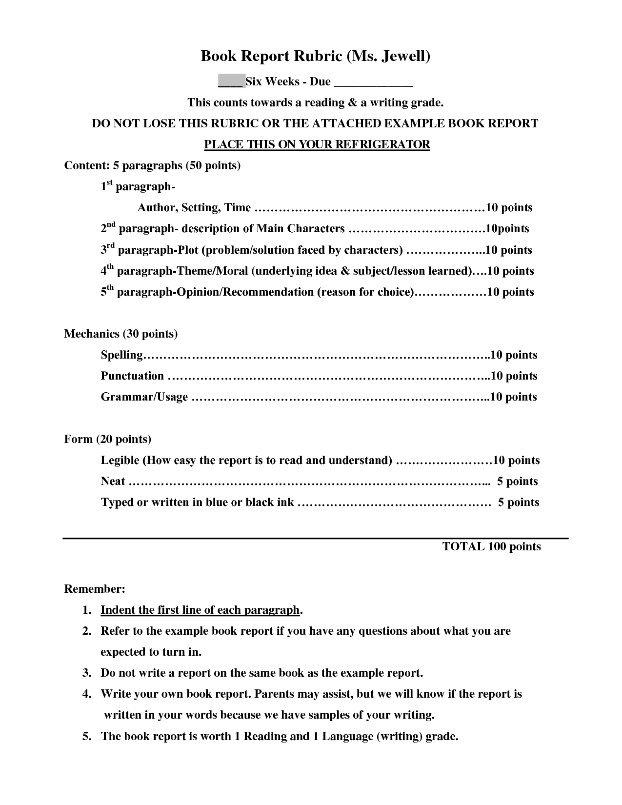 small resolution of Book Report Template 4th Grade   Templates Collection   Book report  templates