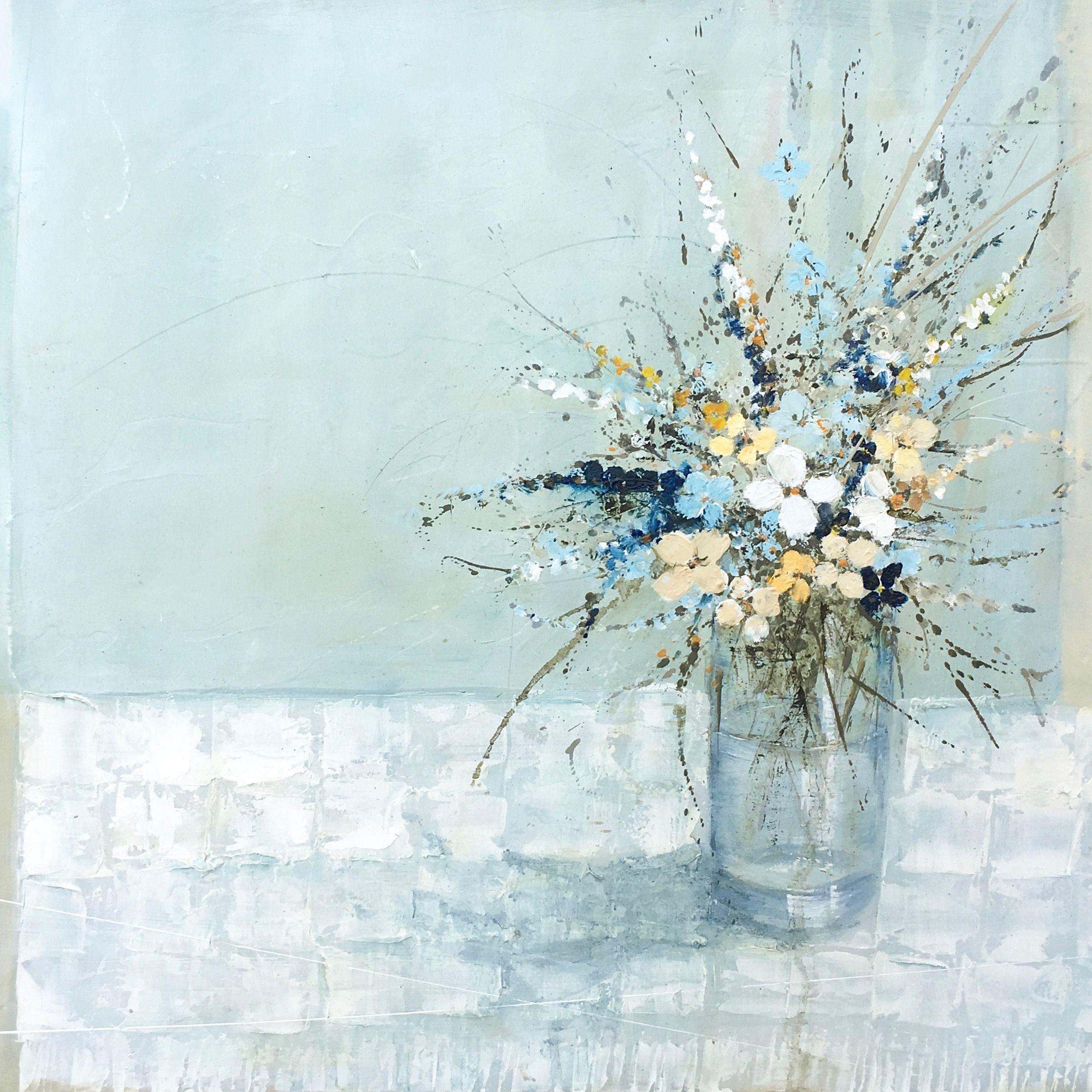 Картинки по запросу Jane Skingley Flowers on a Checked Cloth