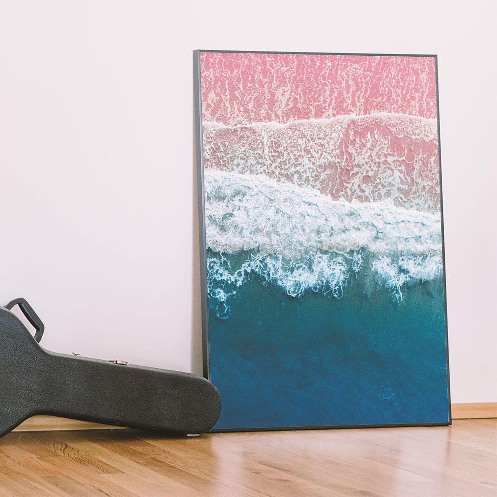 This Coastal Wall Art Is A Beautiful Print That Will Add A