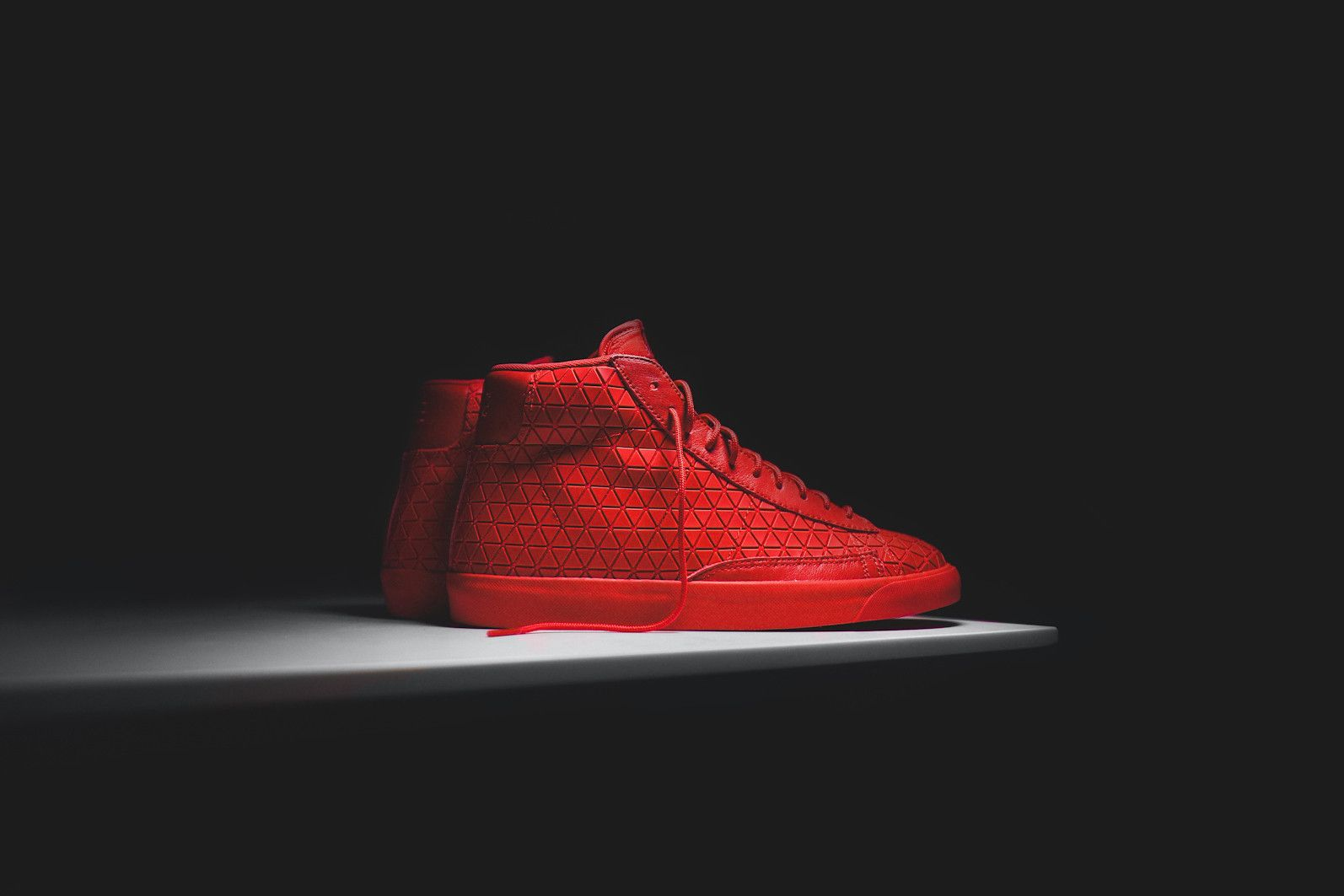 sneakers for cheap ac5eb 5d46e ... new zealand nike blazer mid metric qs university red kith nyc f5c23  e6877