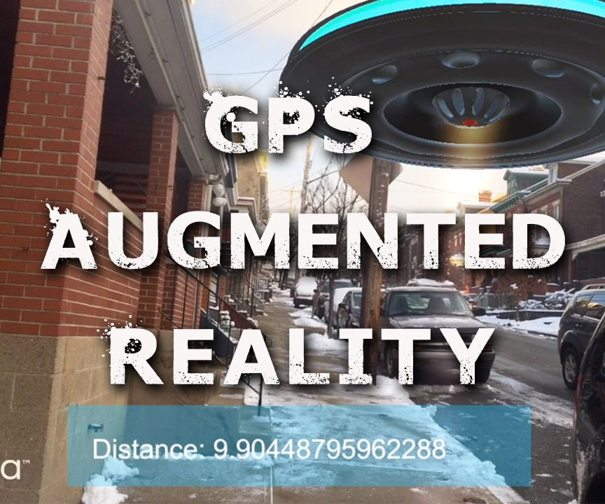 How to Markerless GPS Based Augmented Reality  | The Chit