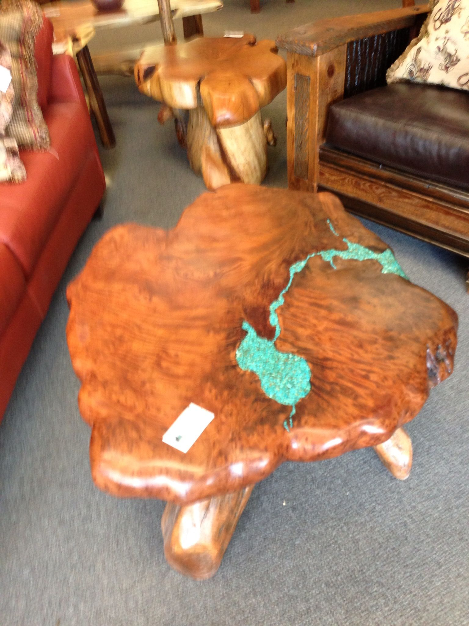 Coffee table found in Salida CO think I will have to make one of these myself ! Found a place ...
