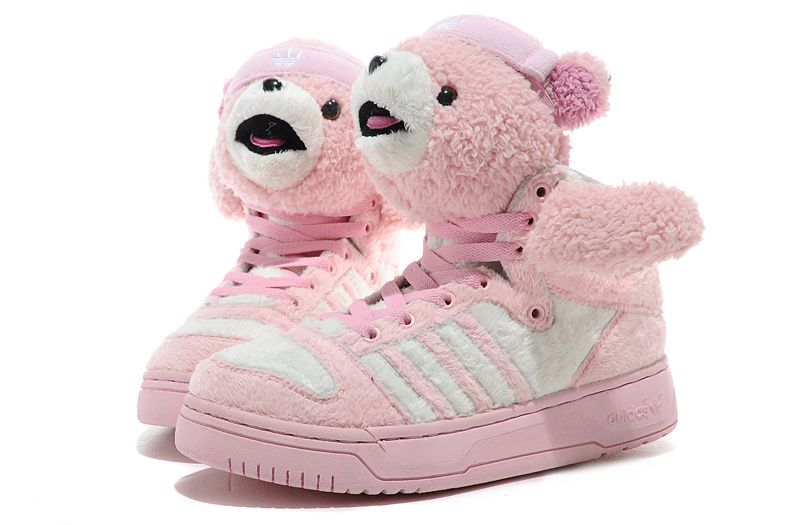 88644cc49e74 Adidas Shoes Men · Adidas-Jeremy-Scott-Teddy-Bear-Pink Discount Adidas