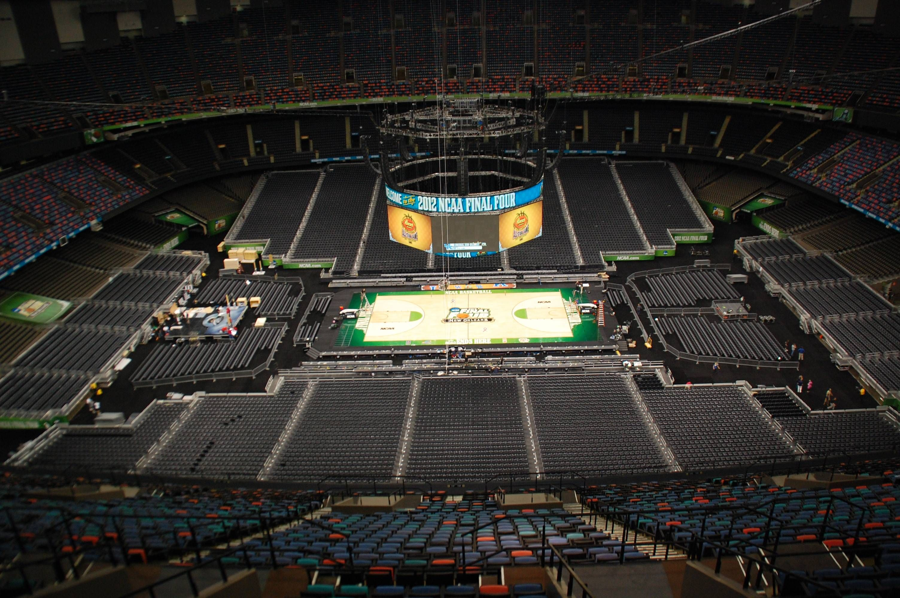 new orleans super dome home of the 2012 final four