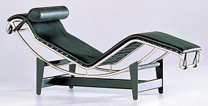 Elegant Chaise Longue 1928 Le Corbusier Chair