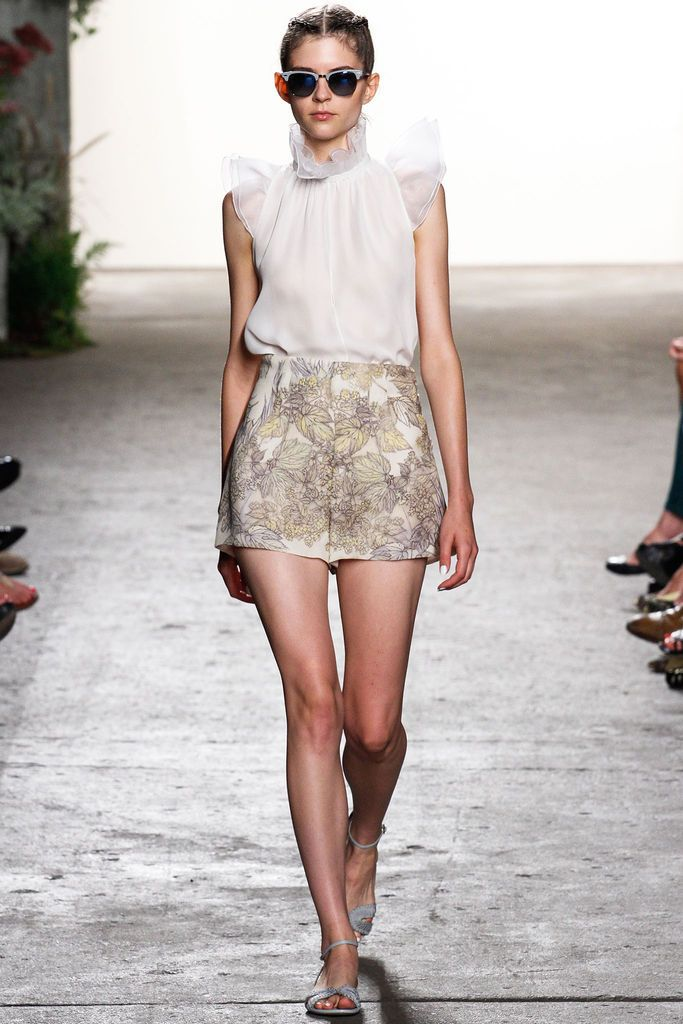 Look 31 Honor Spring 2013 #ruffles