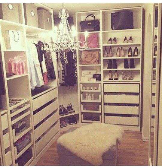 Walkin Closet Ankleide Zimmer Garderobe Schrank Traumschranke