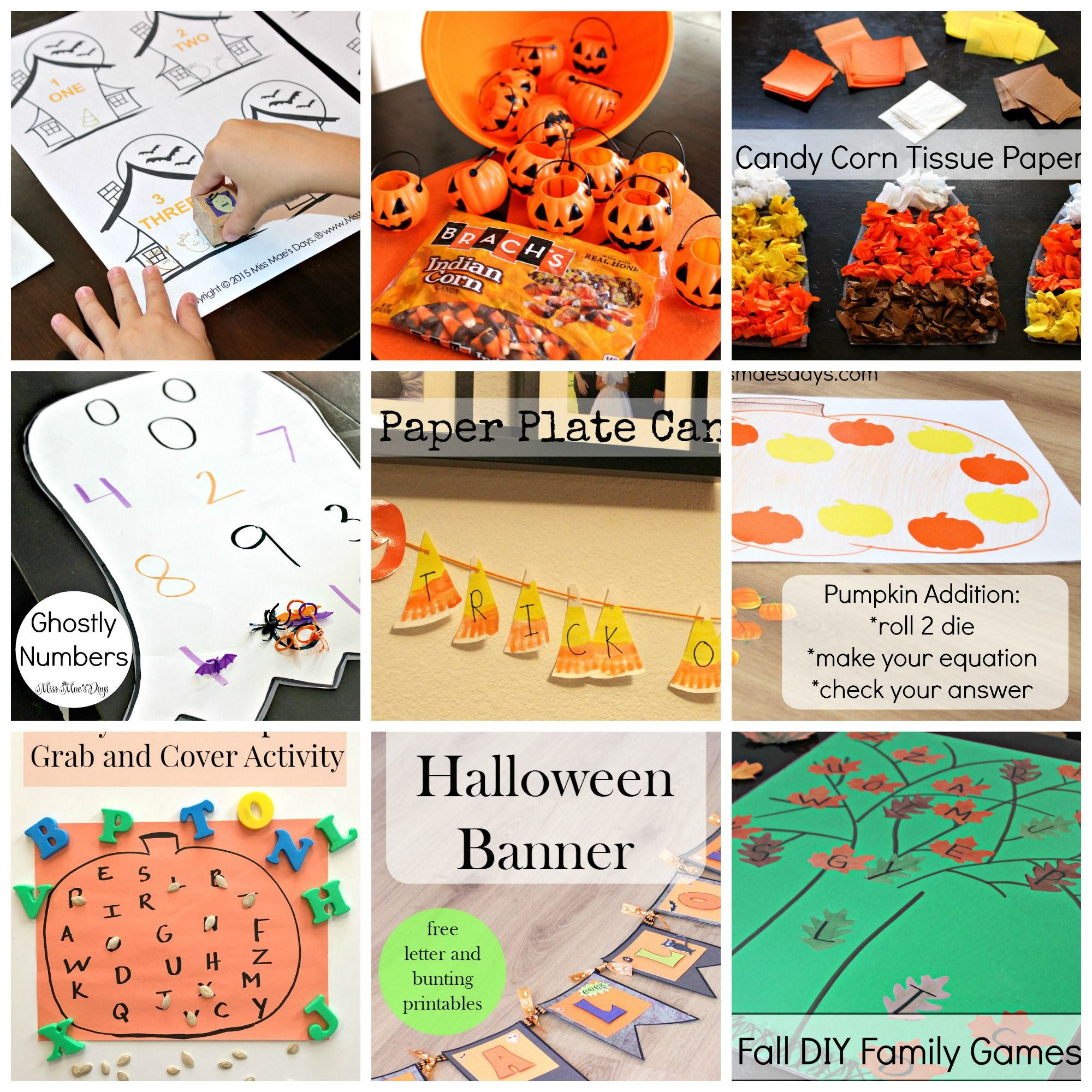 Diy halloween ghost3 - All Things Fall And Halloween Grab Freebies And Tutorial Ideas For Crafting Games And
