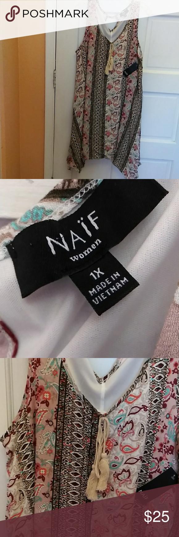Dress 1X NAIF wcmen dress Dresses Midi