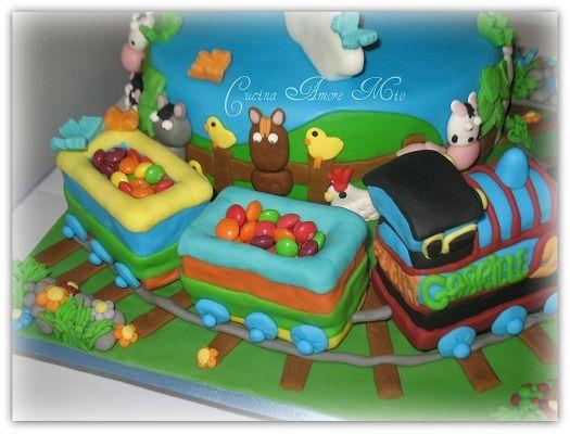 Cake Design Trenino Thomas : [pdz] torta trenino thomas [FORUM] - Cake Design ...