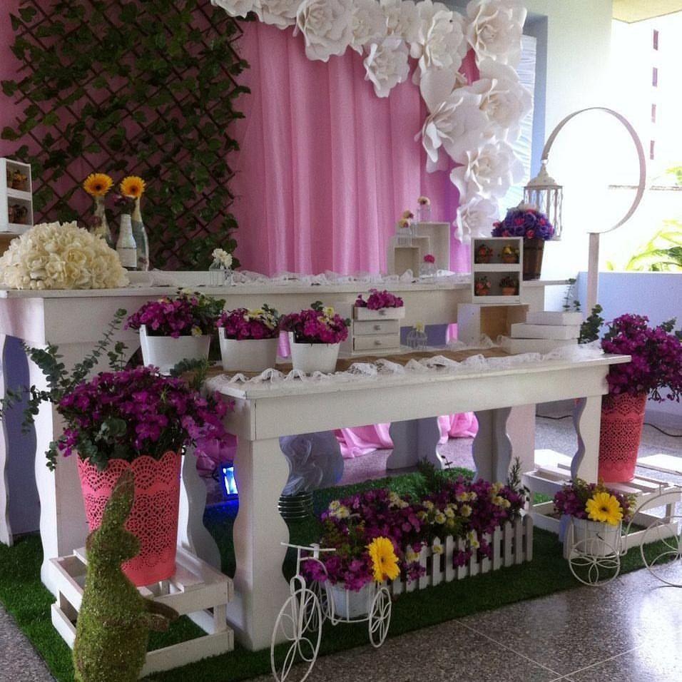 Decoracion para fiestas vintage infantiles bodas 15 anos for Decoracion de quinceanera