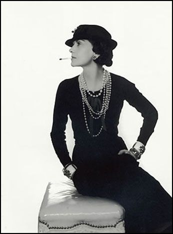 Coco Chanel photographed by Man Ray
